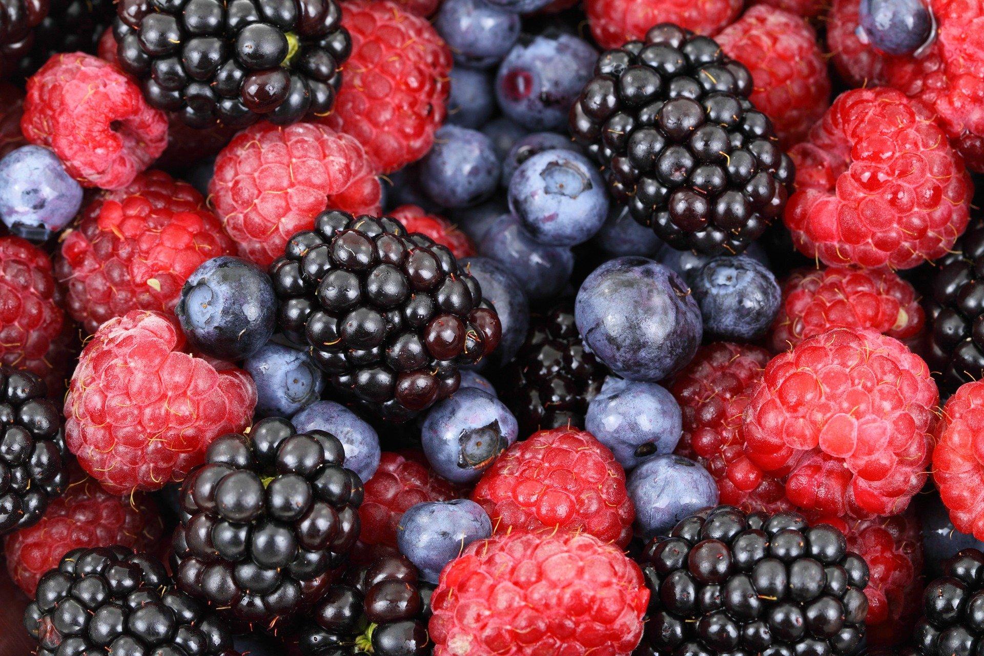 des fruits pour le maquillage